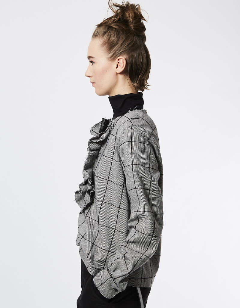 Bluse (Grau)   Lareida