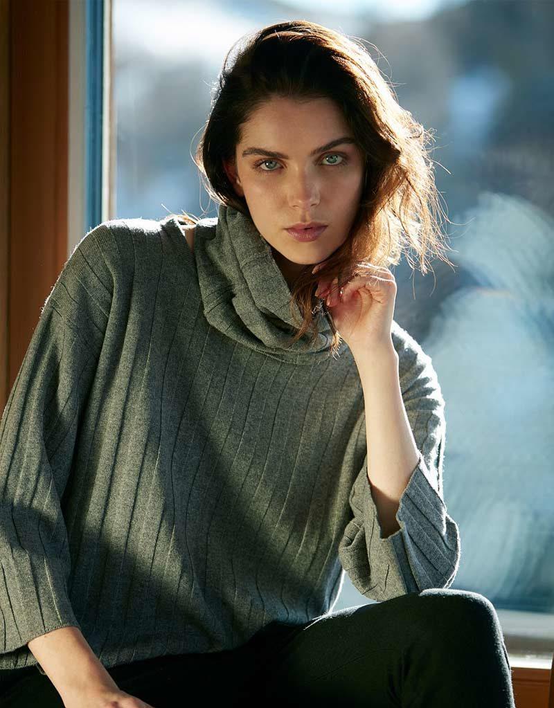 Anne Clare | Pullover Grün