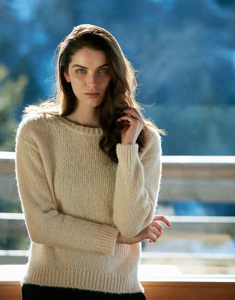 Anne Clare | Pullover Beige