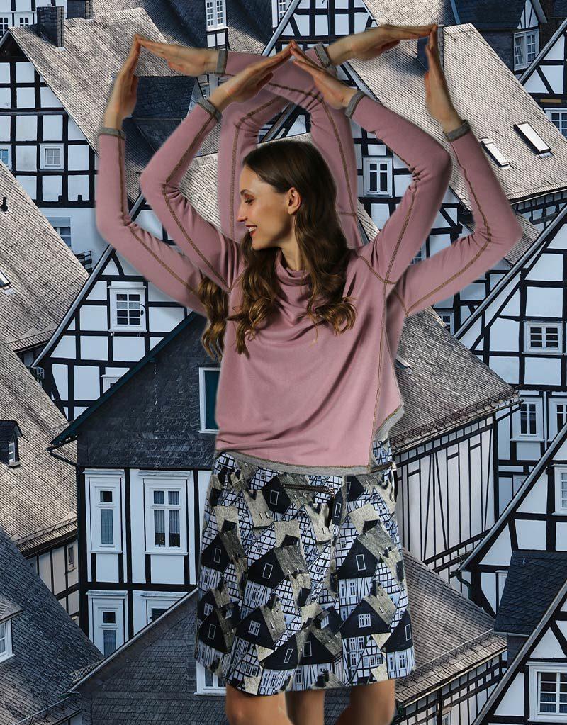 ICKE BERLIN | Rock und Pullover