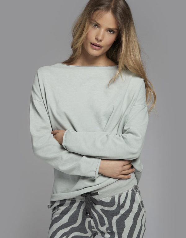 Juvia | Sweater und Jogginghose (Tiger-Muster)