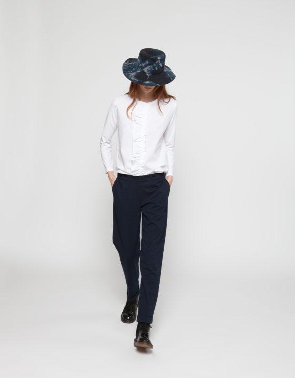 WHYCI MILANO | Bluse (Weiß) und Jogginghose